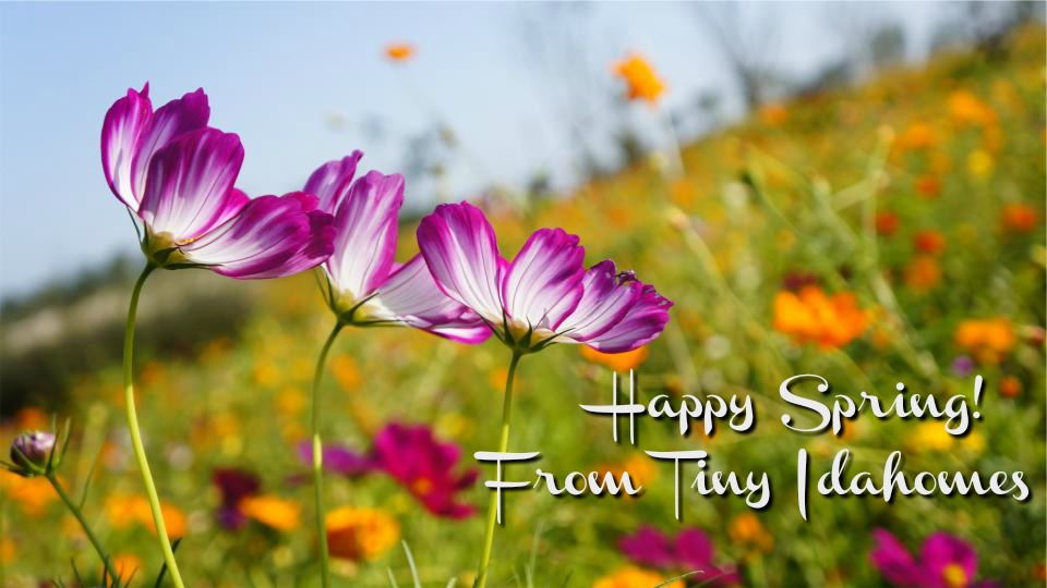 Happy Spring from Tiny Idahomes
