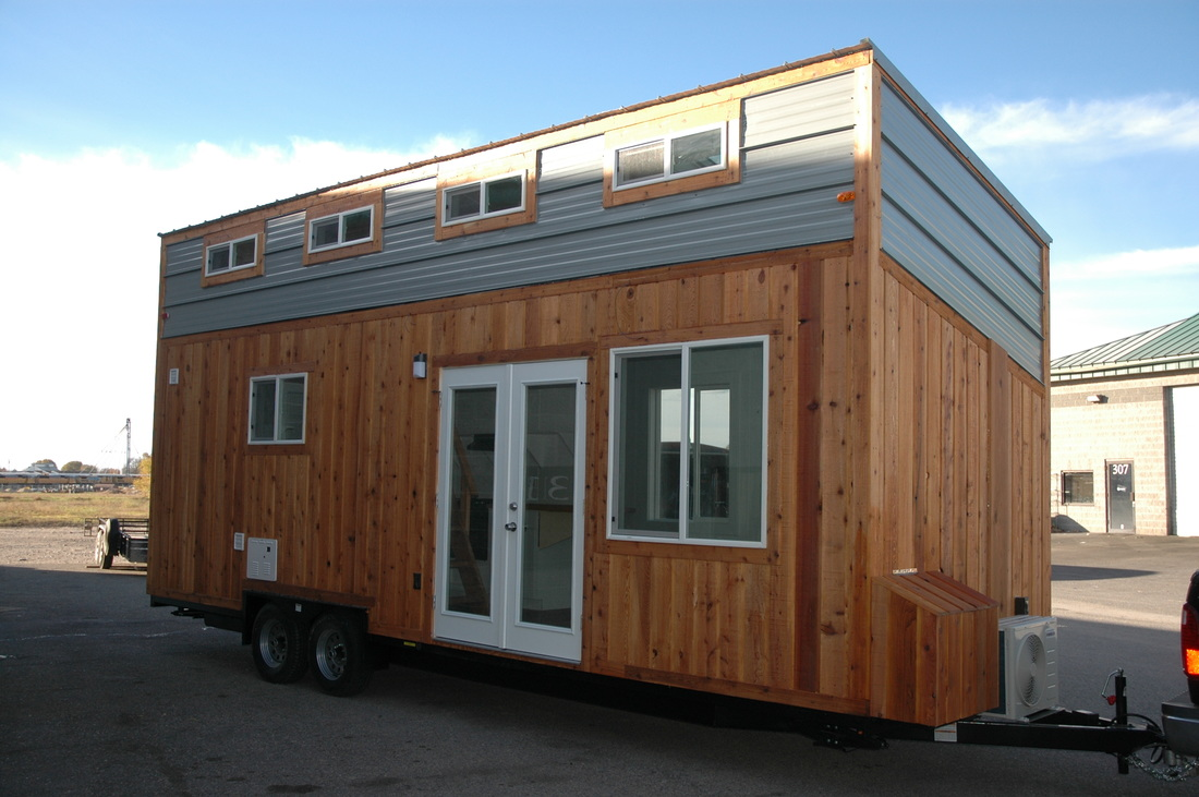 New 26 Shed Roof Tiny House Rv Finished By Tiny Idahomes