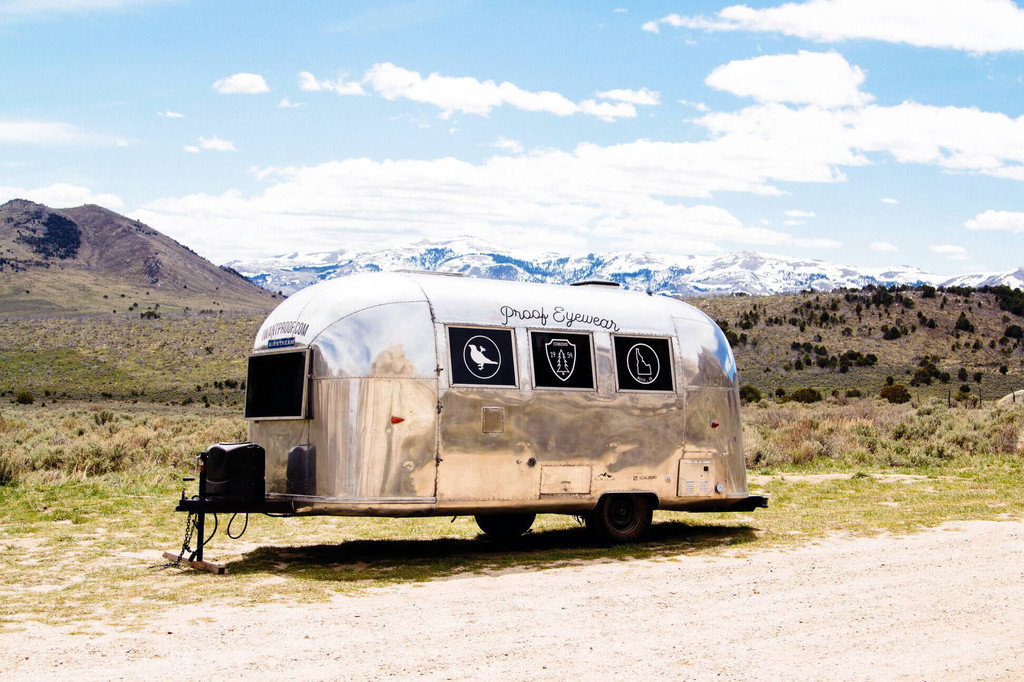 Proof Eyewear Restored Airstream