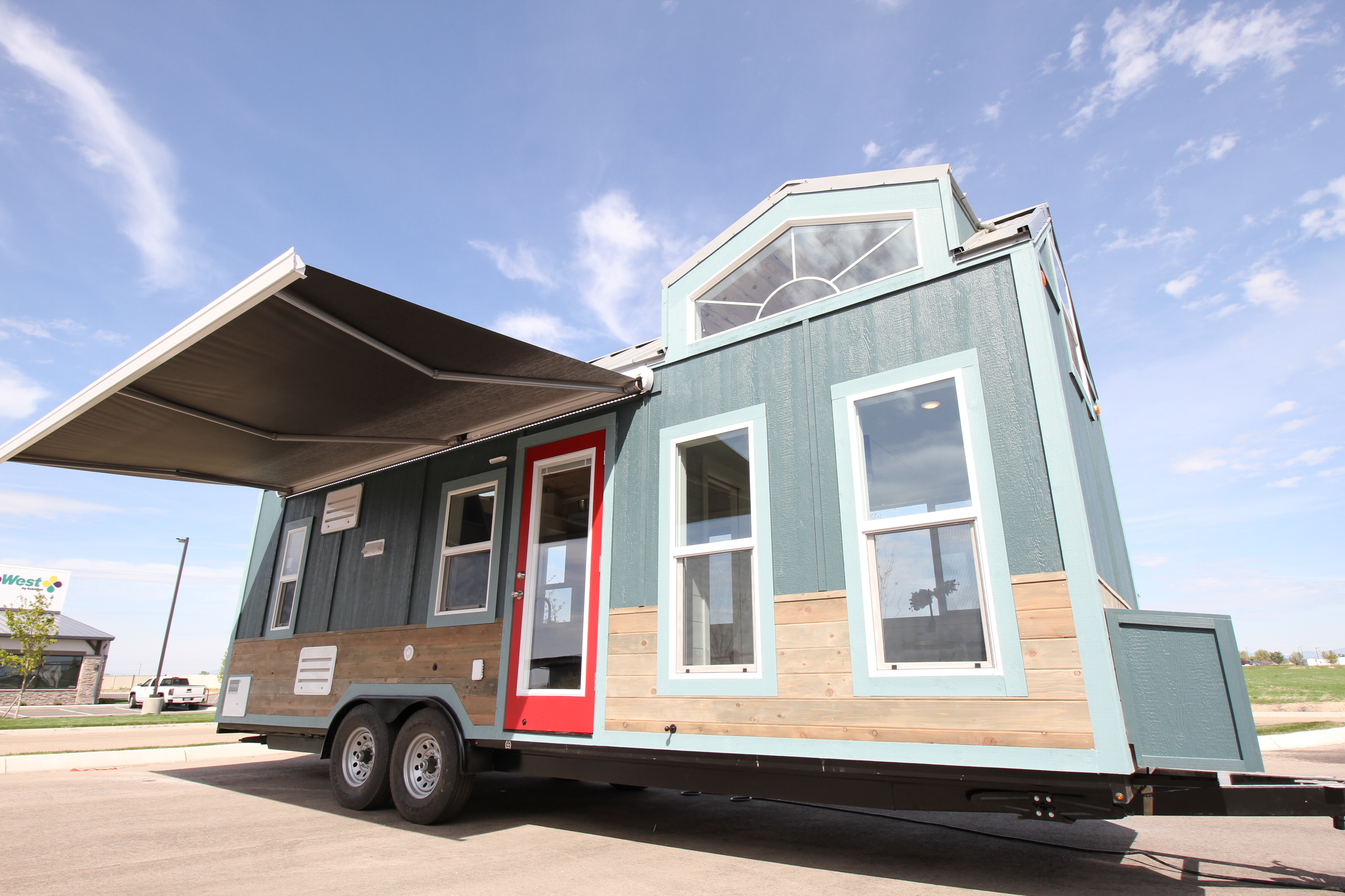 Tiny Home Designs: Tiny House 2 Lofts For Sale Fully Off Grid This House Will Blow Your Mind